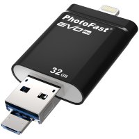 PhotoFast i-Flashdrive EVO Plus флеш-накопитель - 32GB