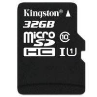 micro SDHC карта памяти Kingston 32GB Class10 UHS-I U1  R/W 90/45 MB/s без адаптера (SDCA10/32GBSP)