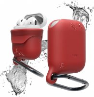 Чехол Elago для AirPods Waterproof hang case Red