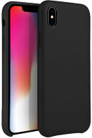 Чехол Uniq для iPhone X/XS Duffle Vale Genuine leather Black
