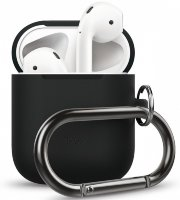 Чехол Elago для AirPods Hang case Black