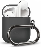 Чехол Elago для AirPods Hang case Dark grey