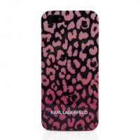 Lagerfeld iPhone 6 Camouflage Hard Pink