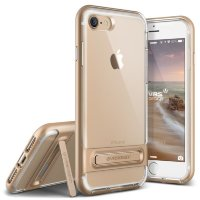 Чехол VRS Design Crystal Bumper для iPhone 7 Shine Gold