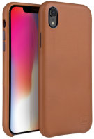 Чехол Uniq для iPhone XR Duffle Vale Genuine leather Camel
