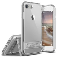 Чехол VRS Design Crystal Bumper для iPhone 7 Light Silver