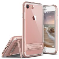 Чехол VRS Design Crystal Bumper для iPhone 7 Rose Gold