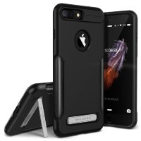 Чехол VRS Design Carbon Fit для iPhone 7 Plus Black