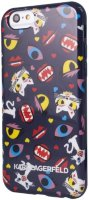 Lagerfeld iPhone 6 Monster Choupette Hard Blue pt
