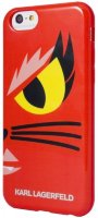 Lagerfeld iPhone 6 Monster Choupette Hard Red