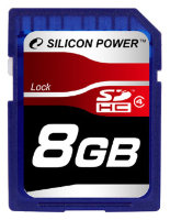 SDHC карта памяти Silicon Power 8GB Class4