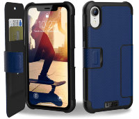 Чехол UAG Metropolis series for iPhone XR blue (111096115050)