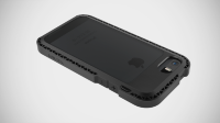 LunaTik чехол SEISMIK iPhone 5/5S (Black/Smoke)