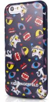 Lagerfeld iPhone 6+ Monster Choupette Hard Blue pt