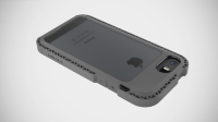 LunaTik чехол SEISMIK iPhone 5/5S (Grey/Clear)