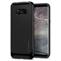 Чехол Spigen для Galaxy S8 Plus Neo Hybrid, ShinyBlack (571CS21651)