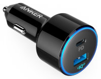 АЗУ Anker PowerDrive II PD with 1 PD and 1 PIQ ​USB-C Car Charger (A2229H12)