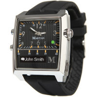 Умные часы Martian Passport Black Silicone Band