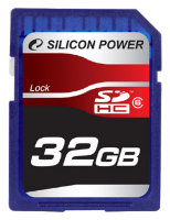 SDHC карта памяти Silicon Power 32GB Class6