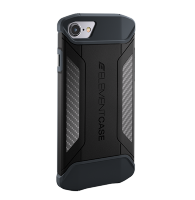 Чехол Element Case CFX для iPhone 7 Black (EMT-322-131DZ-01)