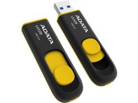 USB Флешка 3.0  A-DATA 64GB UV128 BLACK/YELLOW