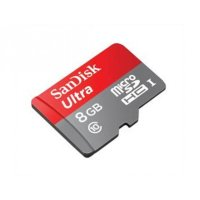 micro SDHC карта памяти SanDisk 8GB Class10 Ultra UHS-I (U3) 48MB/s Android (SDSDQUAN-008G-G4A)