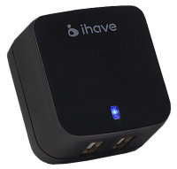 iHave СЗУ Tank 2 USB 3400 mAh black