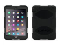 Griffin Survivor for iPad mini 1/2/retina - Black