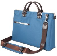 Moshi Urbana Slim Laptop Briefcase - Blue