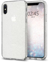 Чехол Spigen Liquid Crystal Glitter  для IPhone Xs Max Crystal Quartz (065CS25123)