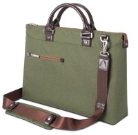 Moshi Urbana Slim Laptop Briefcase - Green