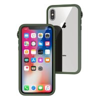 Catalyst Impact Protection iPhone X Case Green
