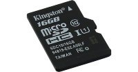 micro SDHC карта памяти Kingston 16GB Class10 UHS-I без адаптера (SDC10/16GBSP)