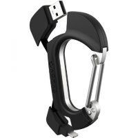Nomad Carabiner for iPhone Lightning to USB charging cable- Карабин-кабель Lightning 2 в 1