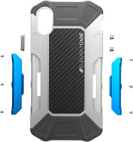 Чехол Element Case Formula для IPhone X Grey/Blue (EMT-322-175EY-02)
