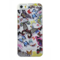Lacroix для iPhone 5/5S Butterfly Hard White