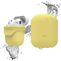 Чехол Elago для AirPods Waterproof case Creamy Yellow