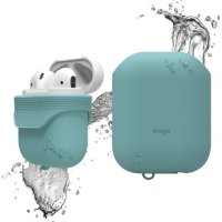 Чехол Elago для AirPods Waterproof case Coral Blue