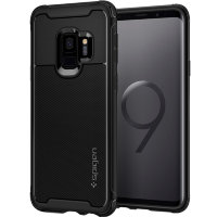 Чехол Spigen Rugged Armor Urban для Galaxy S9 Black
