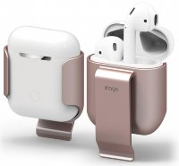 Клип Elago для AirPods Carrying clip Rose gold