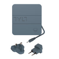TYLT SMART CHARGER 6K+ TRAVEL CHARGER Lightning черный/серый