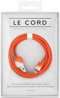 Кабель Le Cord Aquarelle Orange Lightning 1.2m