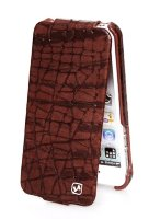 Чехол HOCO Knight Leather Case для iPhone 5/5s, Brown