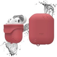 Чехол Elago для AirPods Waterproof case Italian Rose (EAPWF-BA-IRO)