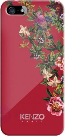 Kenzo для iPhone 5/5S Exotic Hard Red