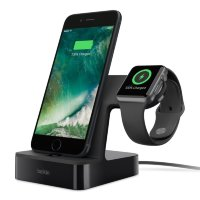 Док-станция Belkin PowerHouse Charge Dock для Apple Watch и iPhone (Black)