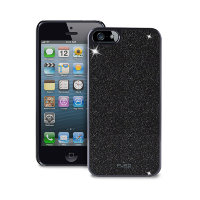 Puro Glitter Cover for iPhone 5/5s, Черный