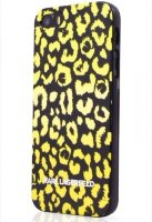 Lagerfeld iPhone 6 Camouflage Hard Yellow