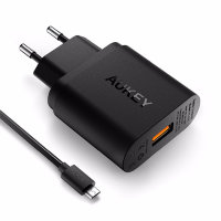 СЗУ Aukey Wall Charger with Qualcomm Quick Charge 2.0 (PA-U28)