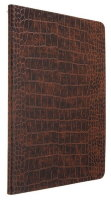 Zenus Avoc Nuovo Diary Croco for Ipad Air/Brown